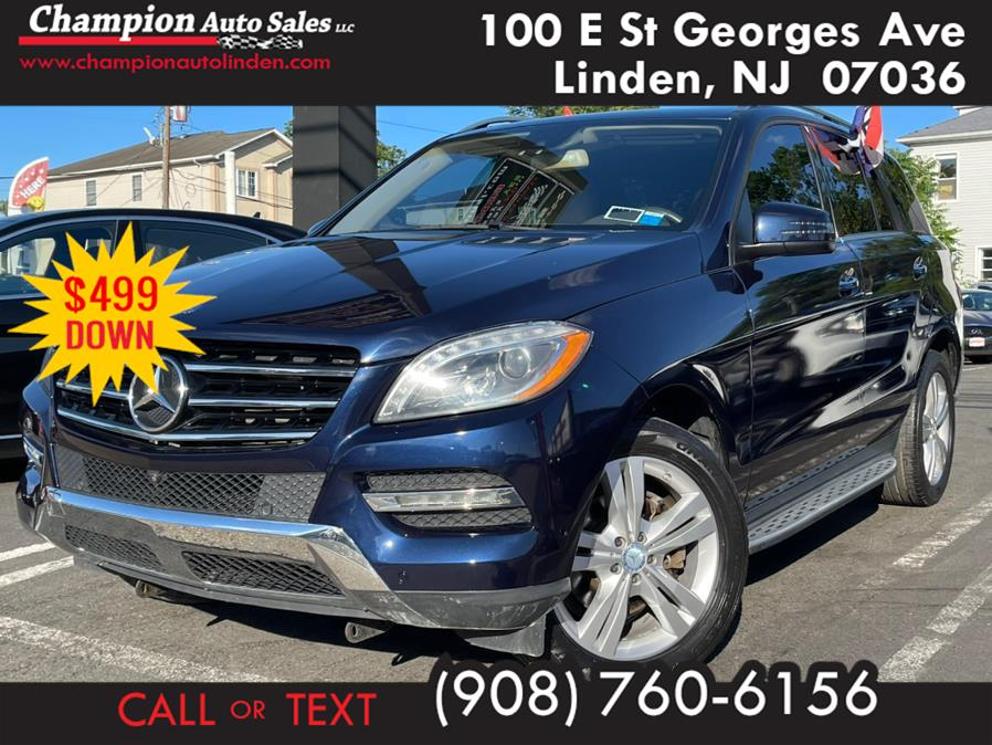 Used 2014 Mercedes-Benz M-Class in Linden, New Jersey | Champion Auto Sales. Linden, New Jersey