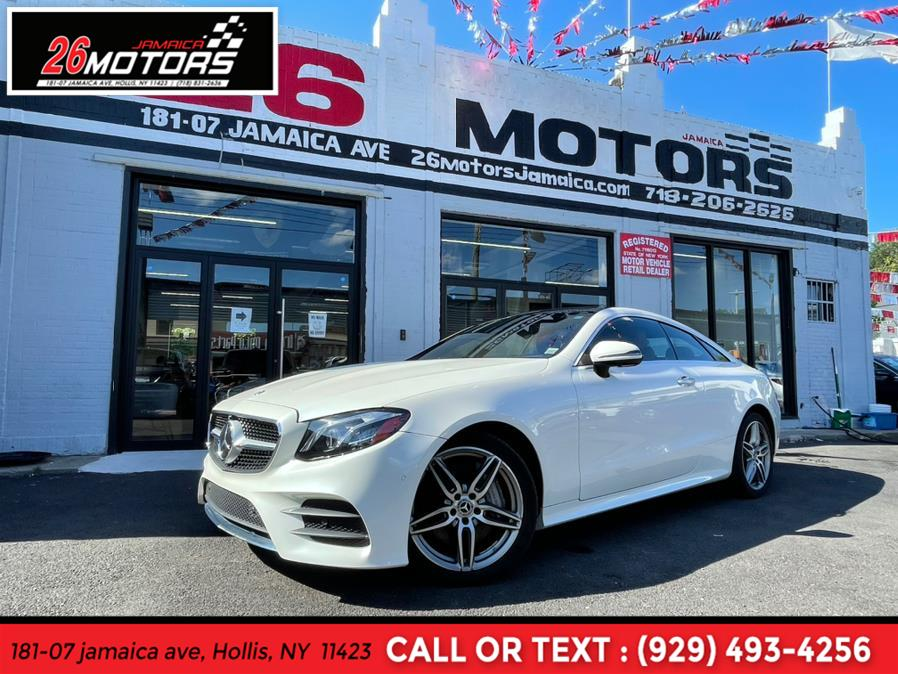 Used 2018 Mercedes-Benz E-Class Coupe in Hollis, New York | Jamaica 26 Motors. Hollis, New York