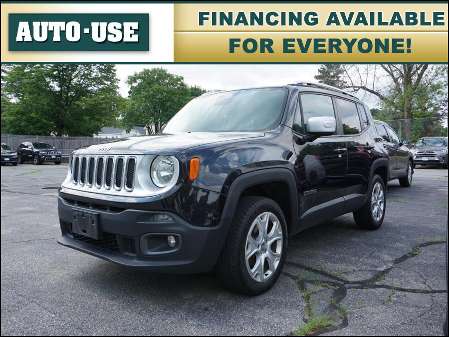 Used Jeep Renegade Limited 2015 | Autouse. Andover, Massachusetts