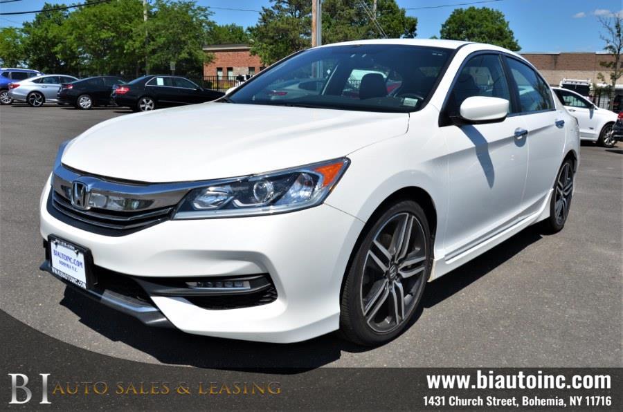 Used Honda Accord Sedan 4dr I4 CVT Sport 2016   B I Auto Sales. Bohemia, New York