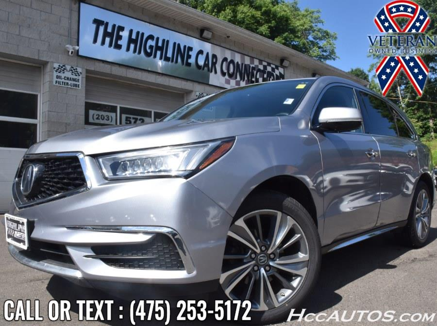Used Acura MDX SH-AWD w/Technology/Entertainment Pkg 2017 | Highline Car Connection. Waterbury, Connecticut