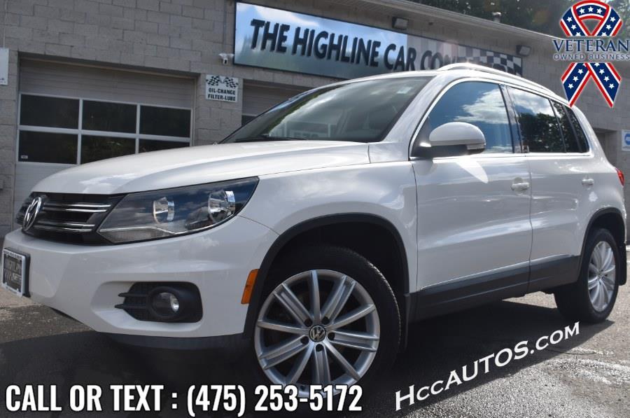 Used 2013 Volkswagen Tiguan in Waterbury, Connecticut   Highline Car Connection. Waterbury, Connecticut