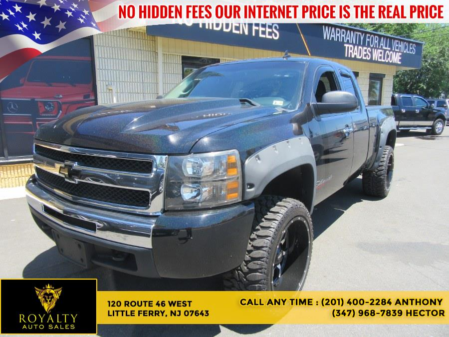 """Used Chevrolet Silverado 1500 4WD Ext Cab 143.5"""" LT 2010 