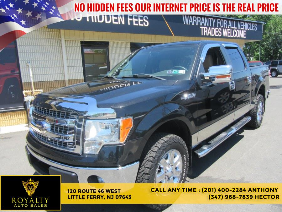 """Used Ford F-150 4WD SuperCrew 145"""" XLT 2013   Royalty Auto Sales. Little Ferry, New Jersey"""