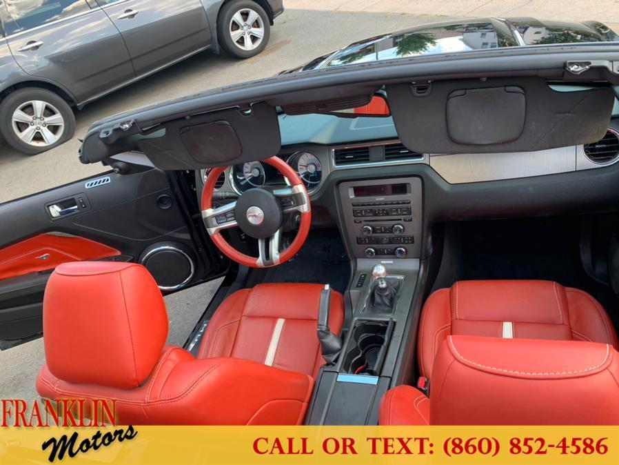 Used Ford Mustang 2dr Conv GT 2011   Franklin Motors Auto Sales LLC. Hartford, Connecticut