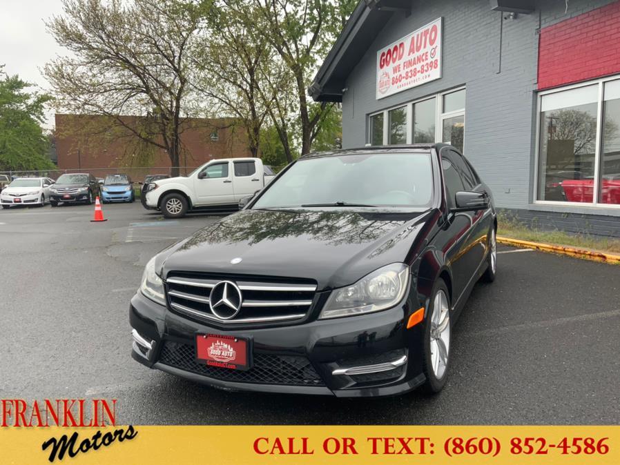 Used 2014 Mercedes-Benz C-Class in Hartford, Connecticut   Franklin Motors Auto Sales LLC. Hartford, Connecticut
