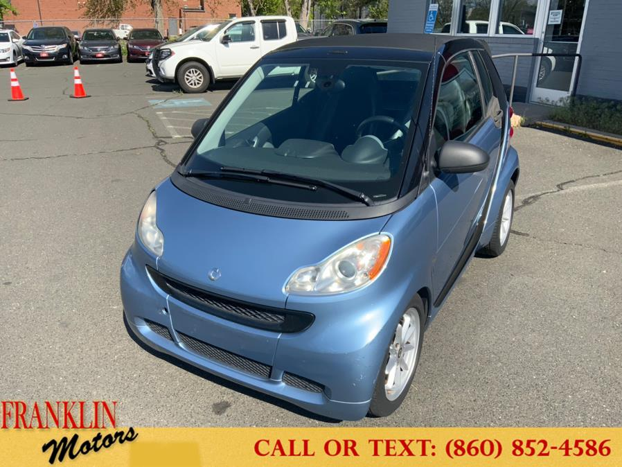 Used 2009 Smart fortwo in Hartford, Connecticut   Franklin Motors Auto Sales LLC. Hartford, Connecticut
