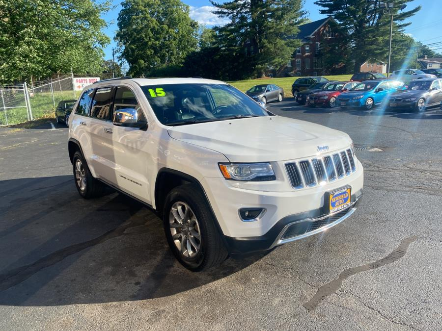 Used Jeep Grand Cherokee 4WD 4dr Limited 2015   Newfield Auto Sales. Middletown, Connecticut