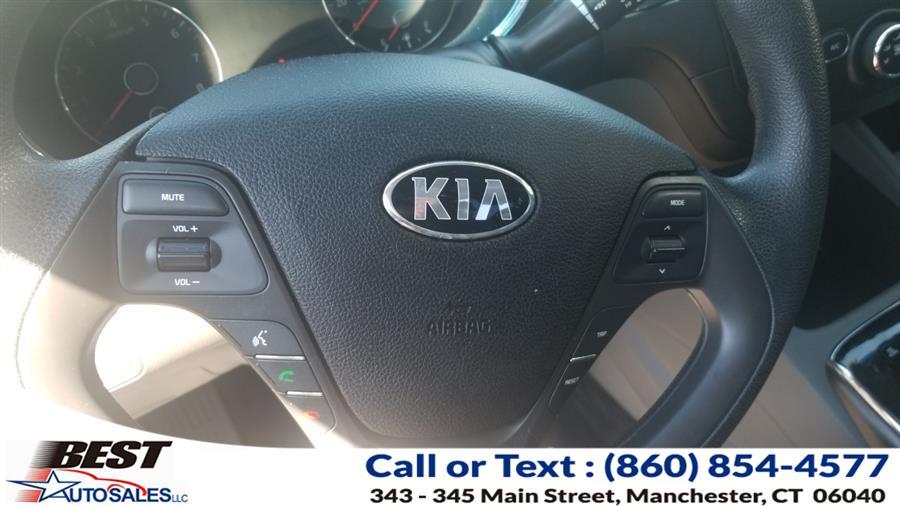Used Kia Forte LX Auto 2017 | Best Auto Sales LLC. Manchester, Connecticut