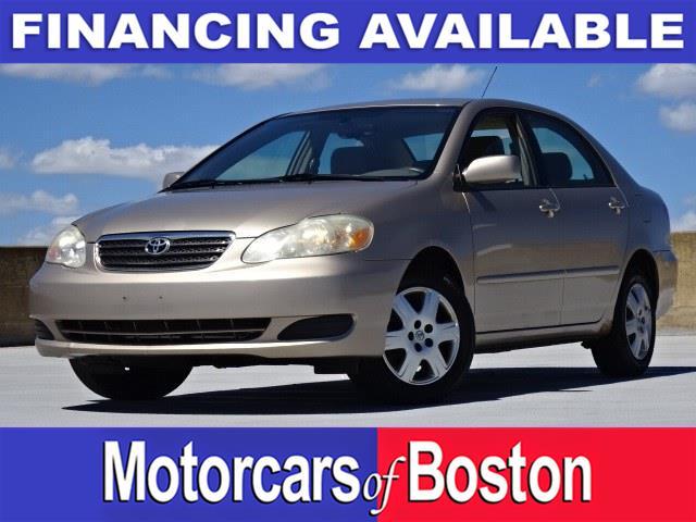 Used 2005 Toyota Corolla in Newton, Massachusetts | Motorcars of Boston. Newton, Massachusetts