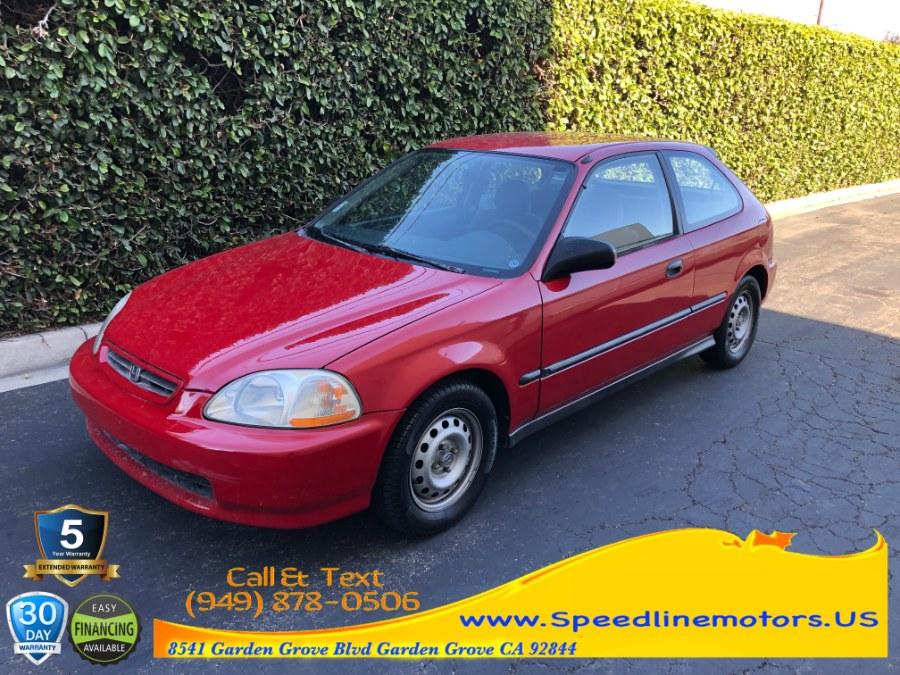 Used Honda Civic 3dr HB CX Auto 1997   Speedline Motors. Garden Grove, California