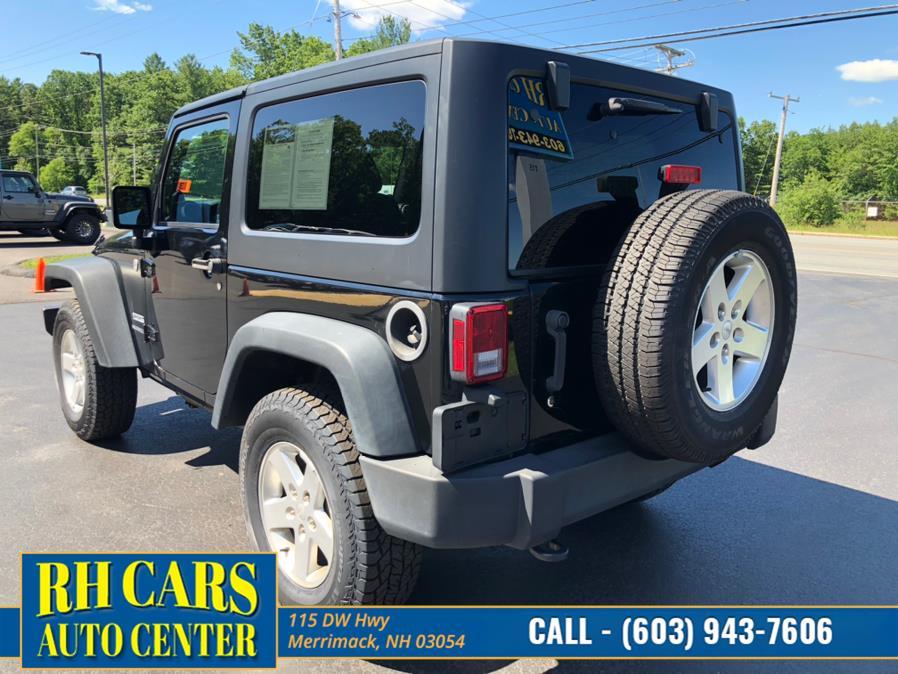Used Jeep Wrangler Sport 4WD 2014 | RH Cars LLC. Merrimack, New Hampshire