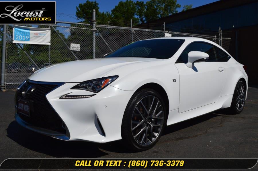 Used 2017 Lexus RC in Hartford, Connecticut | Locust Motors LLC. Hartford, Connecticut