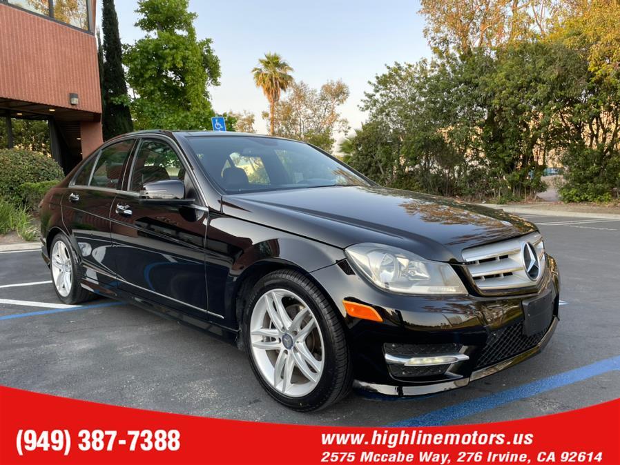 Used Mercedes-Benz C 250 AMG 4dr Sdn C250 Luxury RWD 2013   High Line Motors LLC. Irvine, California