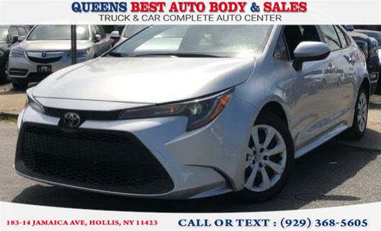 Used Toyota Corolla LE CVT (Natl) 2020 | Queens Best Auto Body / Sales. Hollis, New York