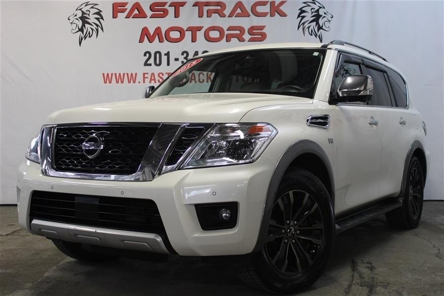 Used Nissan Armada PLATINUM 2018   Fast Track Motors. Paterson, New Jersey