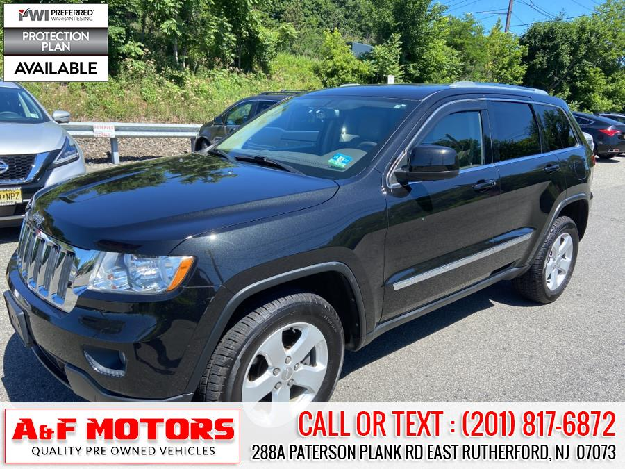 Used Jeep Grand Cherokee 4WD 4dr Laredo 2012 | A&F Motors LLC. East Rutherford, New Jersey