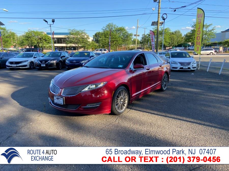 Used Lincoln MKZ 4dr Sdn AWD 2013   Route 4 Auto Exchange. Elmwood Park, New Jersey