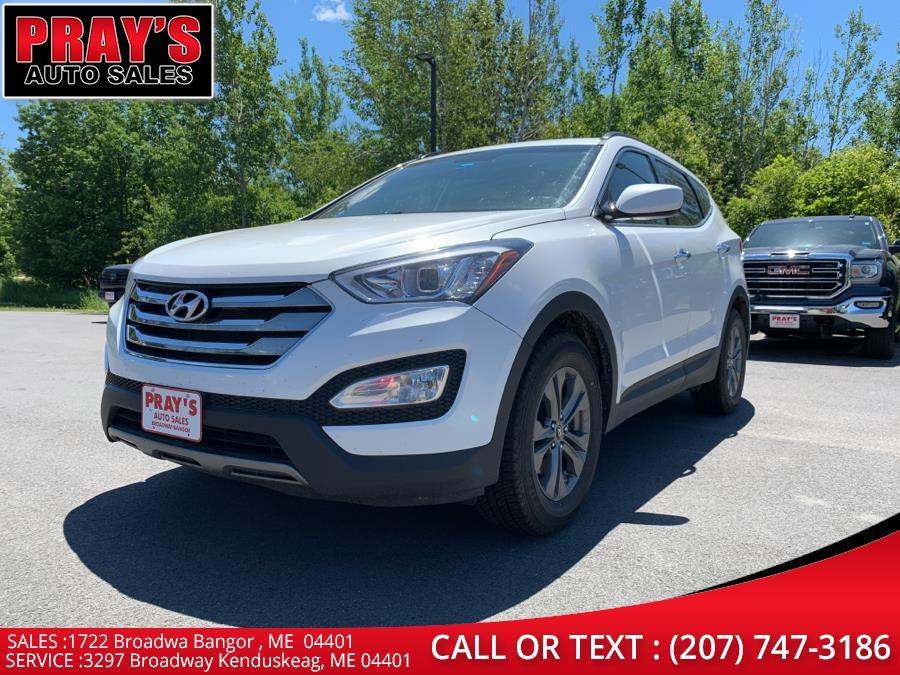 Used Hyundai Santa Fe Sport AWD 4dr 2.4 2014   Pray's Auto Sales . Bangor , Maine