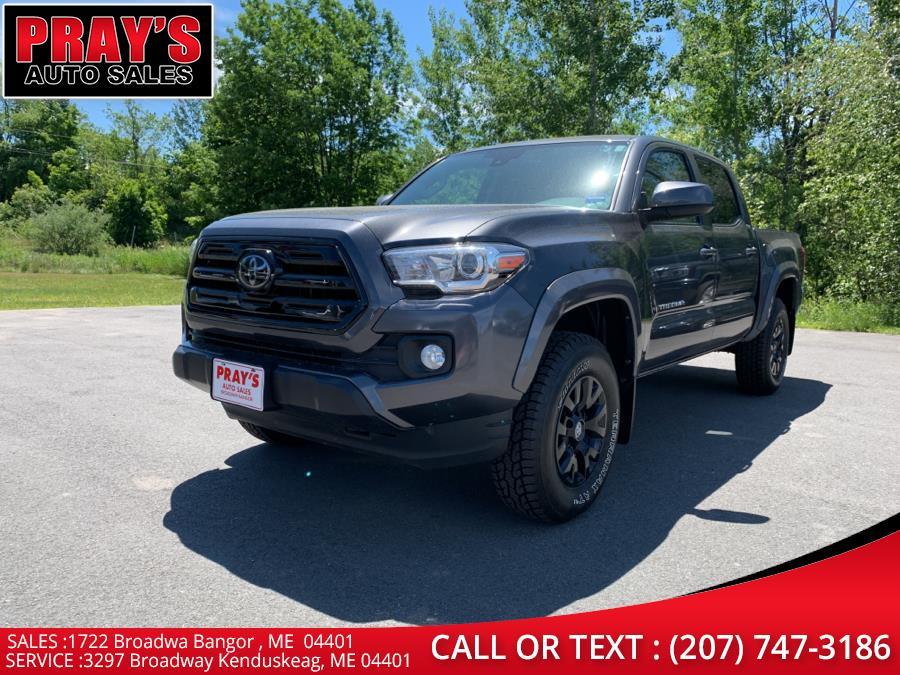 Used Toyota Tacoma SR Double Cab 5'' Bed V6 4x4 AT (Natl) 2018   Pray's Auto Sales . Bangor , Maine