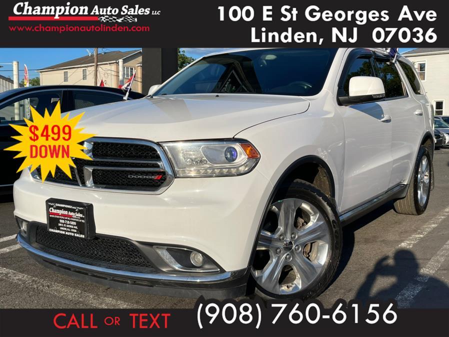 Used 2014 Dodge Durango in Linden, New Jersey | Champion Auto Sales. Linden, New Jersey