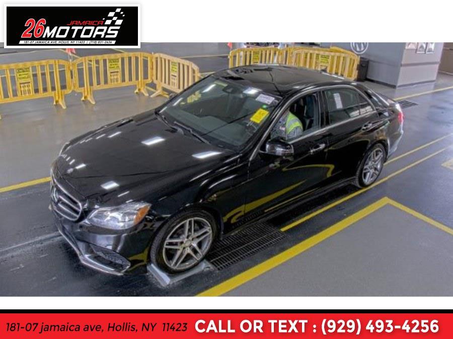 Used 2016 Mercedes-Benz E-Class Sport Pkg in Hollis, New York | Jamaica 26 Motors. Hollis, New York