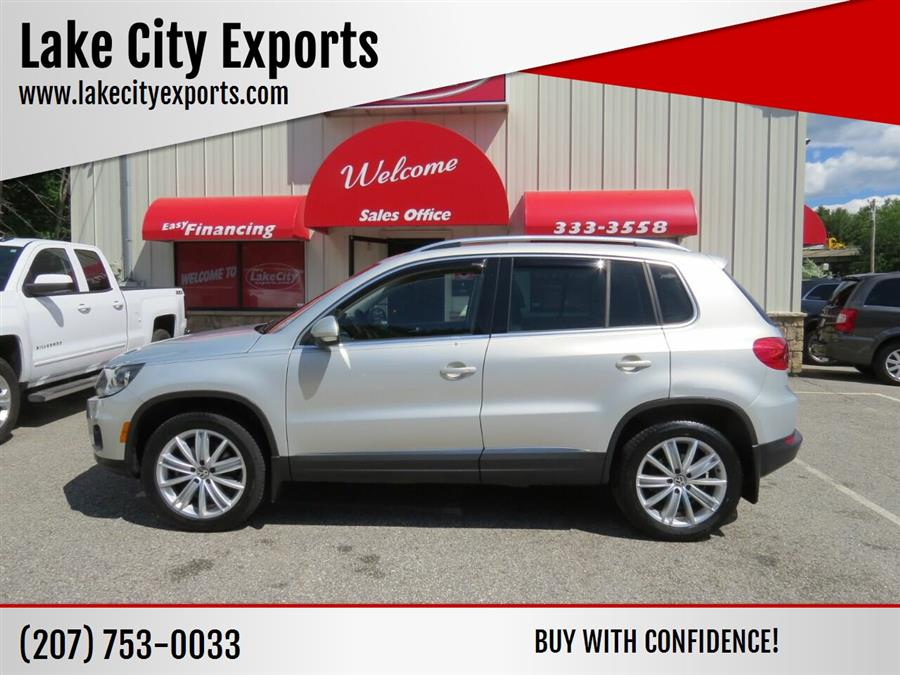 Used Volkswagen Tiguan SEL 4Motion AWD 4dr SUV 2014 | Lake City Exports Inc. Auburn, Maine