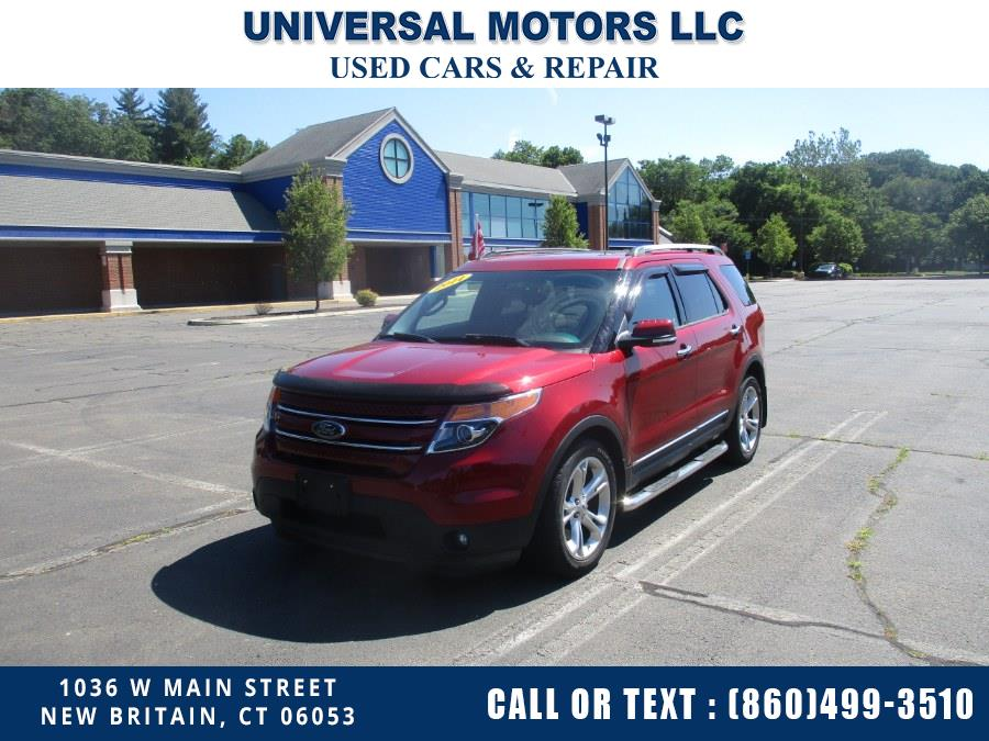 Used 2014 Ford Explorer in New Britain, Connecticut   Universal Motors LLC. New Britain, Connecticut