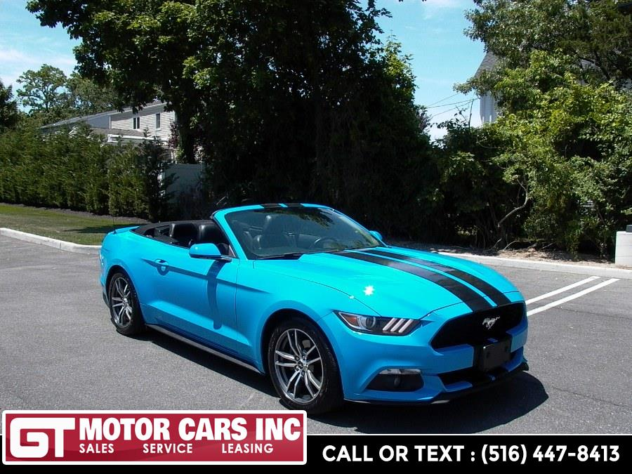 2017 Ford Mustang EcoBoost Premium Convertible, available for sale in Bellmore, NY