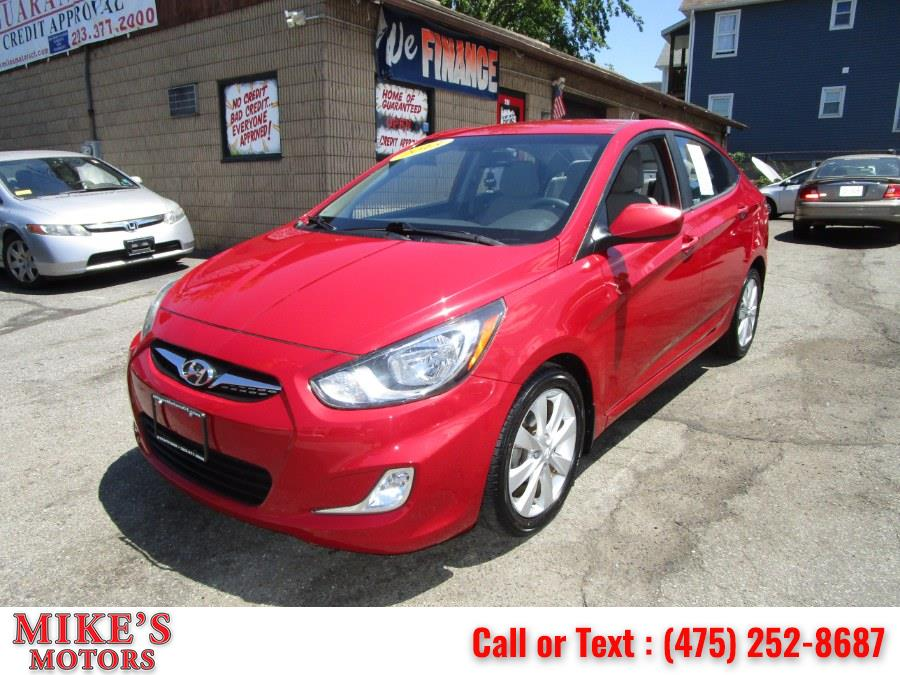 Used 2013 Hyundai Accent in Stratford, Connecticut | Mike's Motors LLC. Stratford, Connecticut