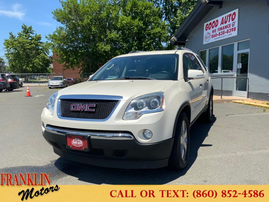 Used 2012 GMC Acadia in Hartford, Connecticut | Franklin Motors Auto Sales LLC. Hartford, Connecticut