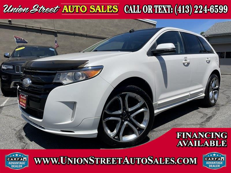 Used Ford Edge 4dr Sport AWD 2013 | Union Street Auto Sales. West Springfield, Massachusetts