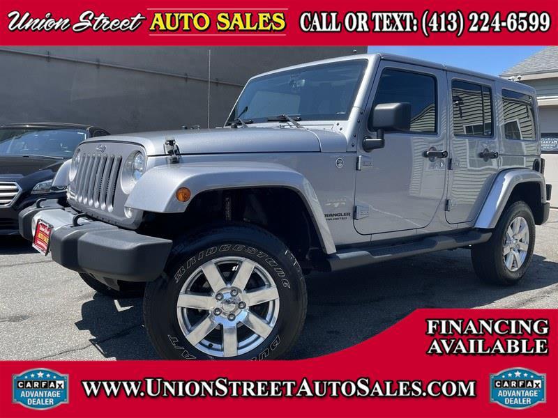 Used Jeep Wrangler Unlimited 4WD 4dr Sahara 2015 | Union Street Auto Sales. West Springfield, Massachusetts