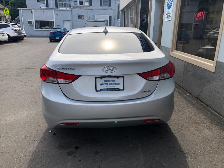 Used Hyundai Elantra 4dr Sdn Auto Limited PZEV 2013   Bristol Auto Center LLC. Bristol, Connecticut