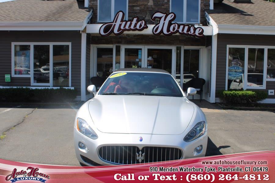 Used Maserati GranTurismo Convertible 2dr Conv GranTurismo 2013   Auto House of Luxury. Plantsville, Connecticut