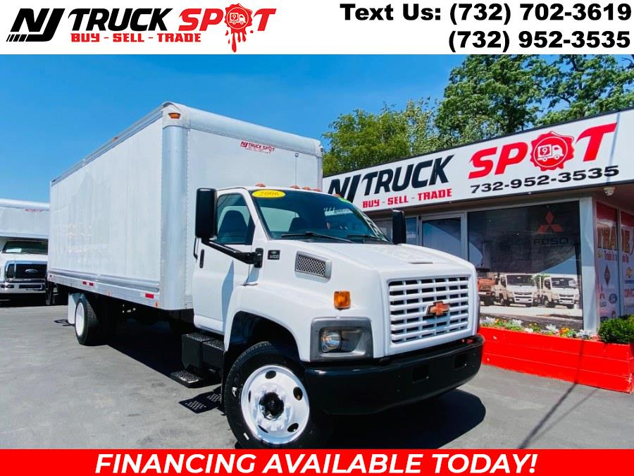 Used Chevrolet C6500 CAT POWERED ENGINE 24 FEET DRY BOX + LIFT GATE + NO CDL 2006   NJ Truck Spot. South Amboy, New Jersey