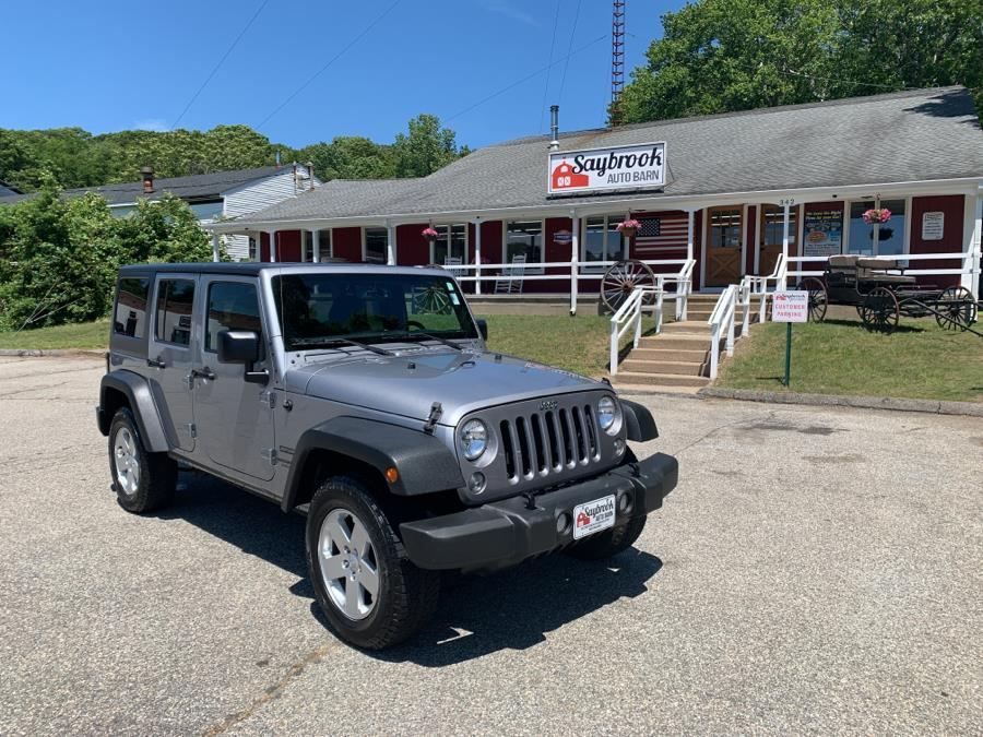 Used 2016 Jeep Wrangler Unlimited in Old Saybrook, Connecticut | Saybrook Auto Barn. Old Saybrook, Connecticut