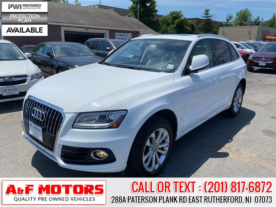 Used 2015 Audi Q5 in East Rutherford, New Jersey | A&F Motors LLC. East Rutherford, New Jersey