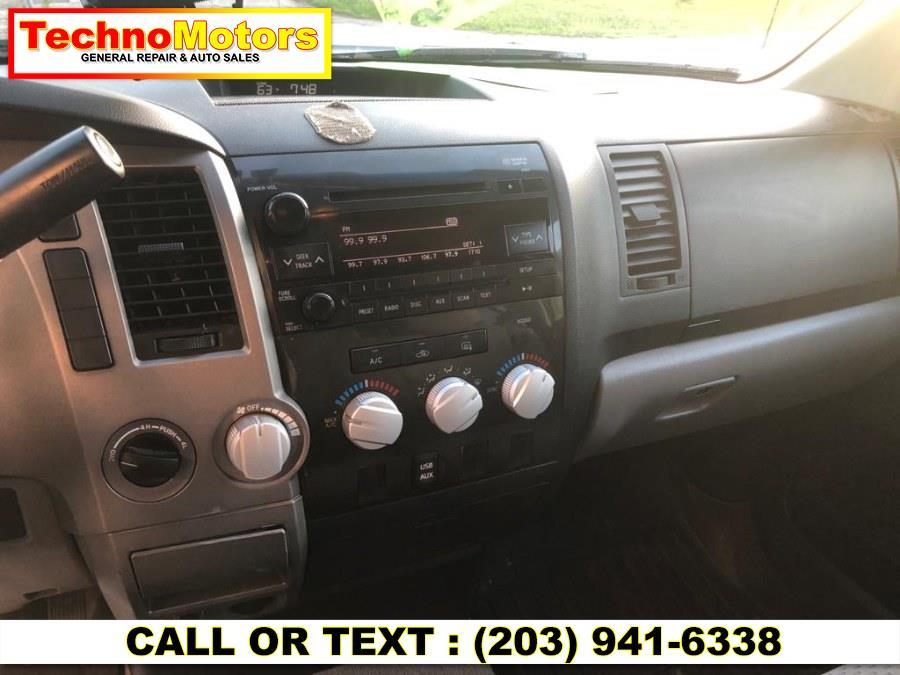 Used Toyota Tundra 4WD Truck Dbl LB 5.7L V8 6-Spd AT (Natl) 2010 | Techno Motors . Danbury , Connecticut