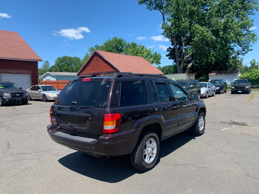 Used Jeep Grand Cherokee 4dr Limited 4WD 2004   CT Car Co LLC. East Windsor, Connecticut