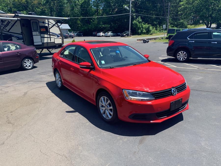 Used Volkswagen Jetta Sedan 4dr Auto SE w/Convenience & Sunroof PZEV 2012 | Diamond Auto Cars LLC. Vernon, Connecticut