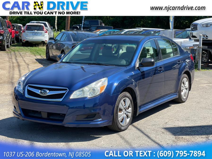 Used Subaru Legacy 2.5i 2010 | Car N Drive. Bordentown, New Jersey