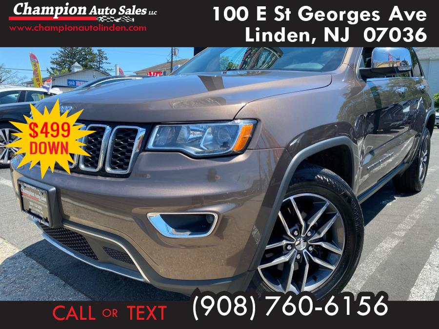 Used 2018 Jeep Grand Cherokee in Linden, New Jersey | Champion Auto Sales. Linden, New Jersey