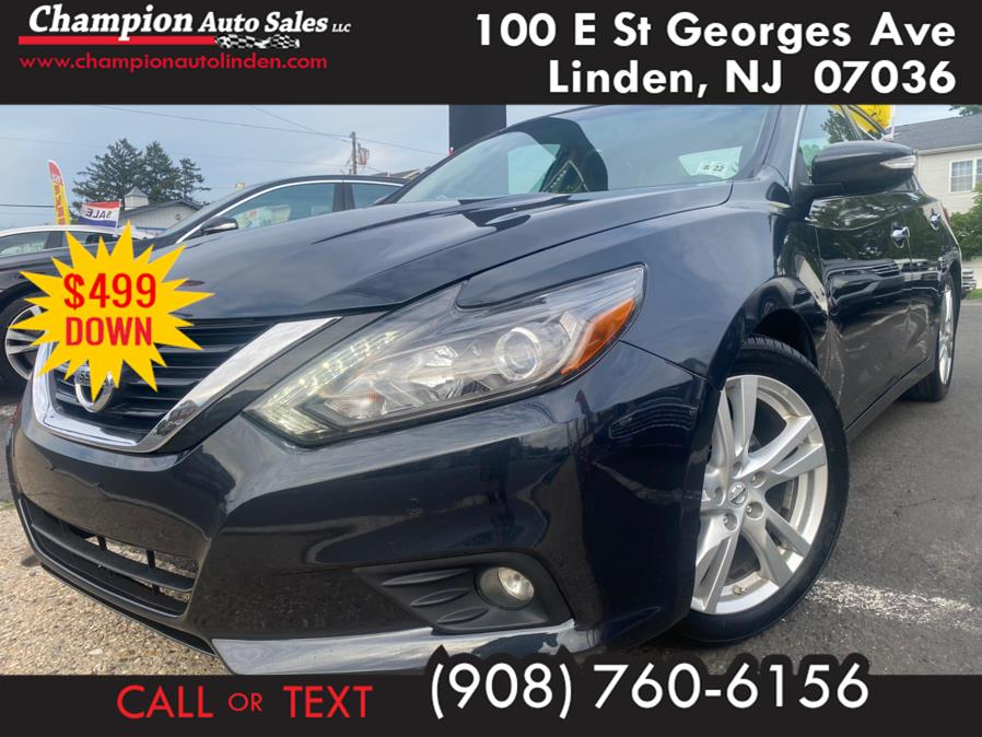Used 2017 Nissan Altima in Linden, New Jersey | Champion Auto Sales. Linden, New Jersey
