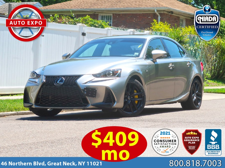 Used Lexus Is 350 F Sport Package 2018 | Auto Expo Ent Inc.. Great Neck, New York