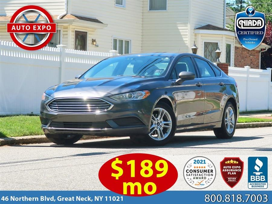 Used 2018 Ford Fusion in Great Neck, New York | Auto Expo Ent Inc.. Great Neck, New York