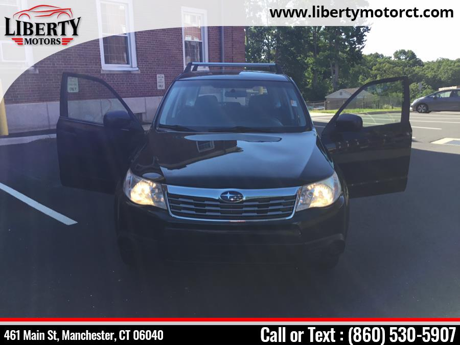 Used Subaru Forester 4dr Man 2.5X 2010 | Liberty Motors. Manchester, Connecticut
