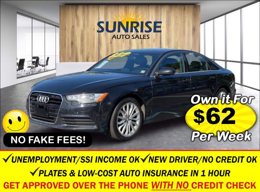 Used Audi A6 4dr Sdn quattro 2.0T Premium Plus 2014   Sunrise Auto Sales of Elmont. Elmont, New York