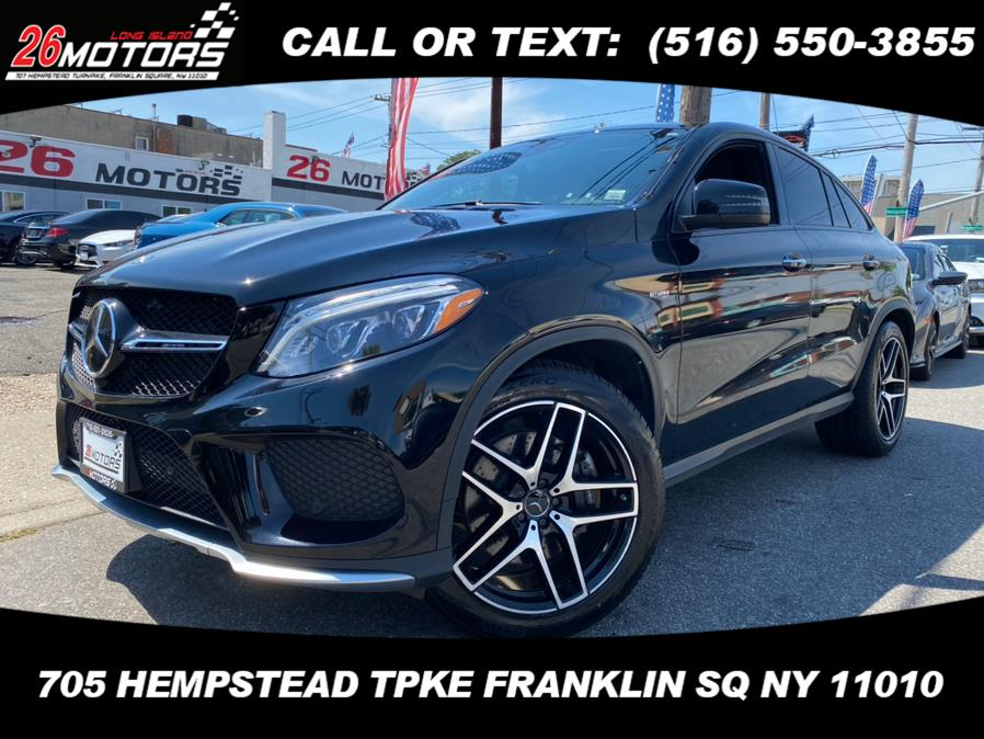 Used Mercedes-Benz GLE ///AMG AMG GLE 43 4MATIC Coupe 2018 | 26 Motors Corp. Bronx, New York