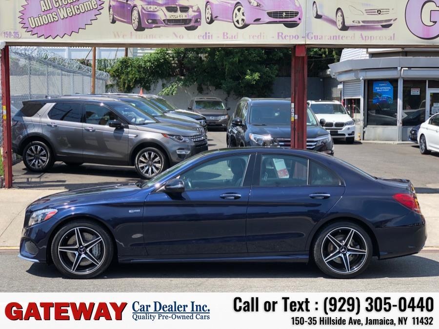 Used Mercedes-Benz C-Class AMG C 43 4MATIC Sedan 2017 | Gateway Car Dealer Inc. Jamaica, New York